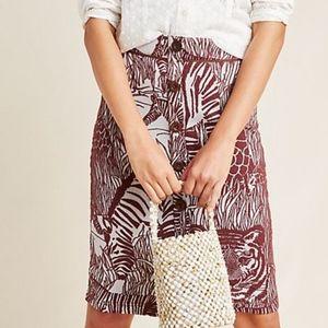 Anthropolgie NWT Jillian Knit Pencil Skirt